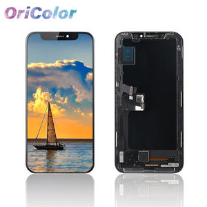 Oricolor OLED LCD für iPhone X LCD Display Touch Screen Mit Digitizer Ersatz Weich Hart OLED Reparatur Teile