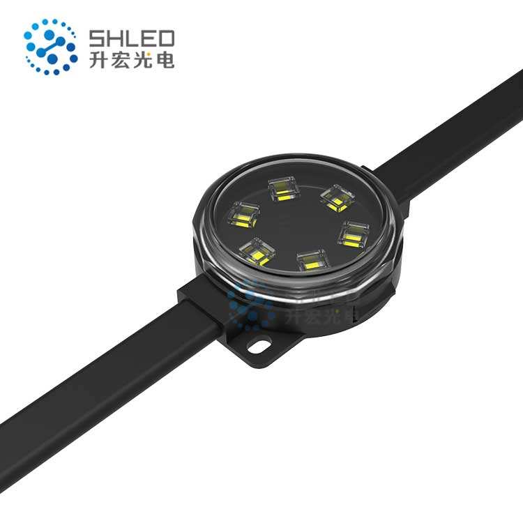 IP68 DC24V RGB 38mm Facade Lighting Underwater RGB Led Pixel Dot for Lighting Project