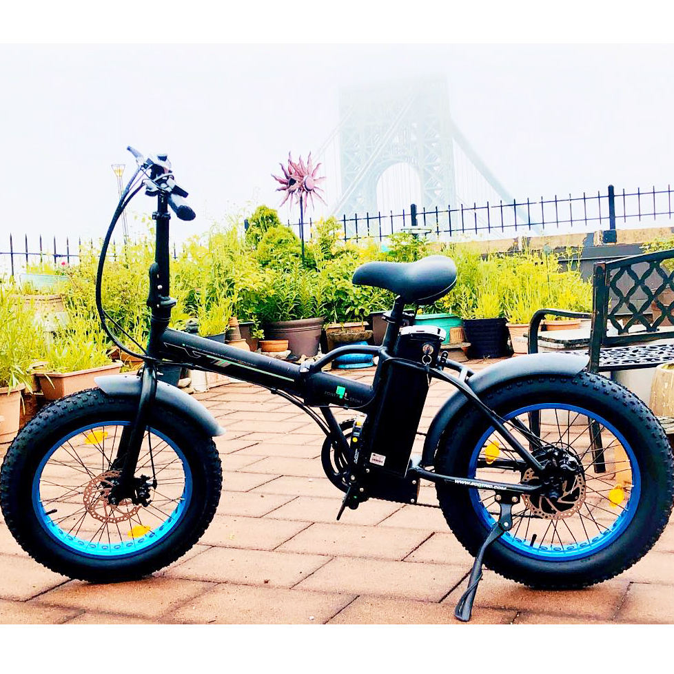 Most popular super performance 36v 48v folding fat ebike china e bike 500w electric bicycle for adult