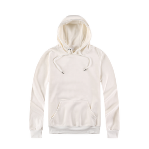 H-811 White Color Fashionable Printable Custom Sublimation Blank Hoodie For Promotion