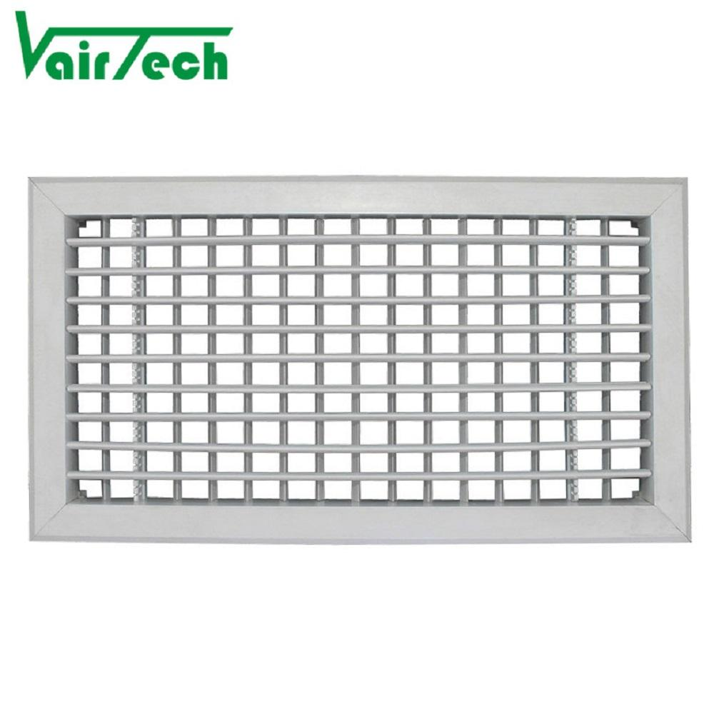 Good quality HVAC ceiling decorative PVC adjustable blades air grille air diffuser