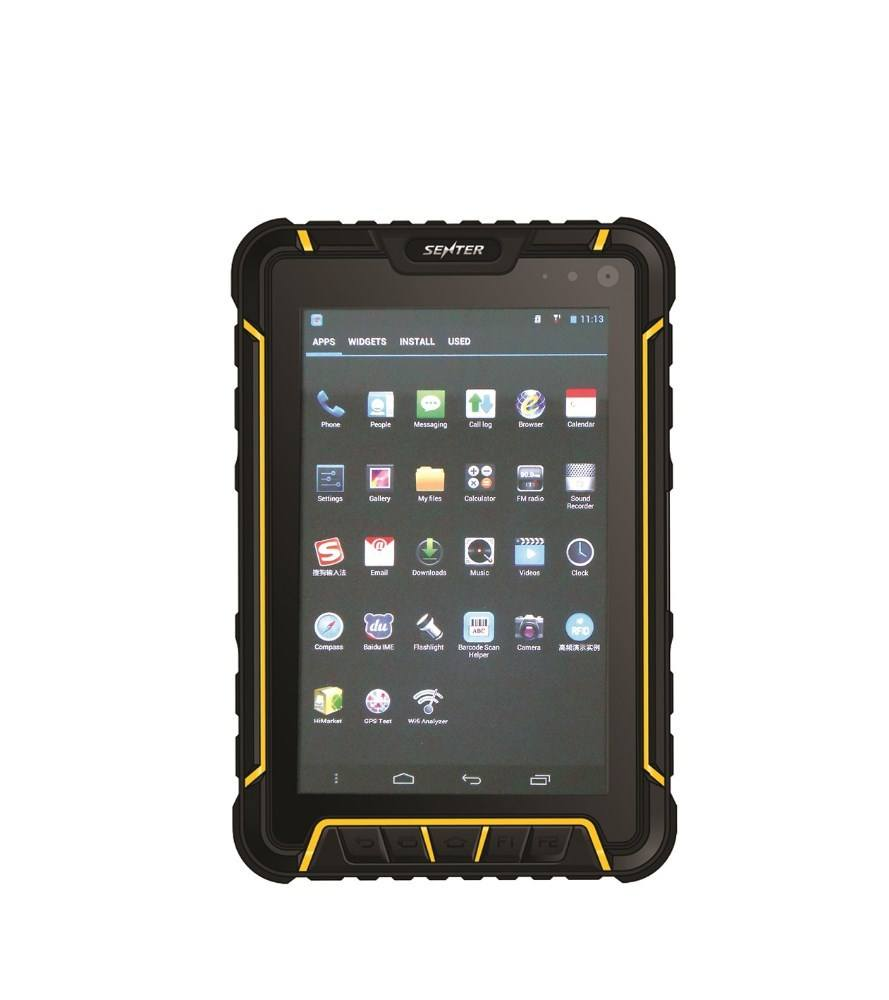 7 pulgadas tablet pc escáner de código de barras android ST907 4G LTE GPS Wifi bluetooth impermeable IP67
