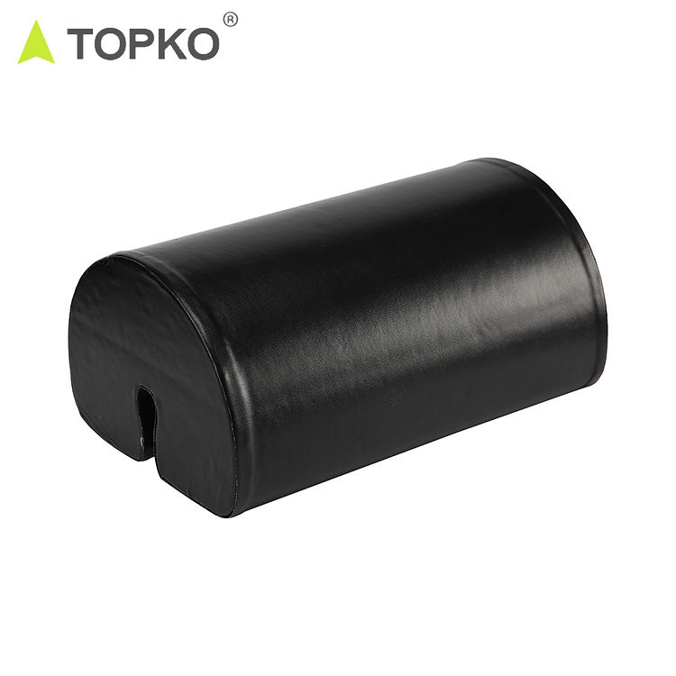 TOPKO wholesale new products barbell pad PU barbell bench press