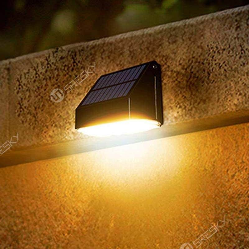Outdoor led garden wall lamp 10w waterproof solar lamps china garden