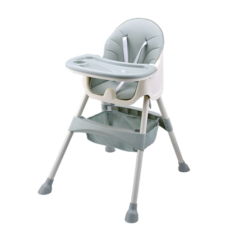 High quality portable cheap baby high chair baby feeding booster seat chair with net bag