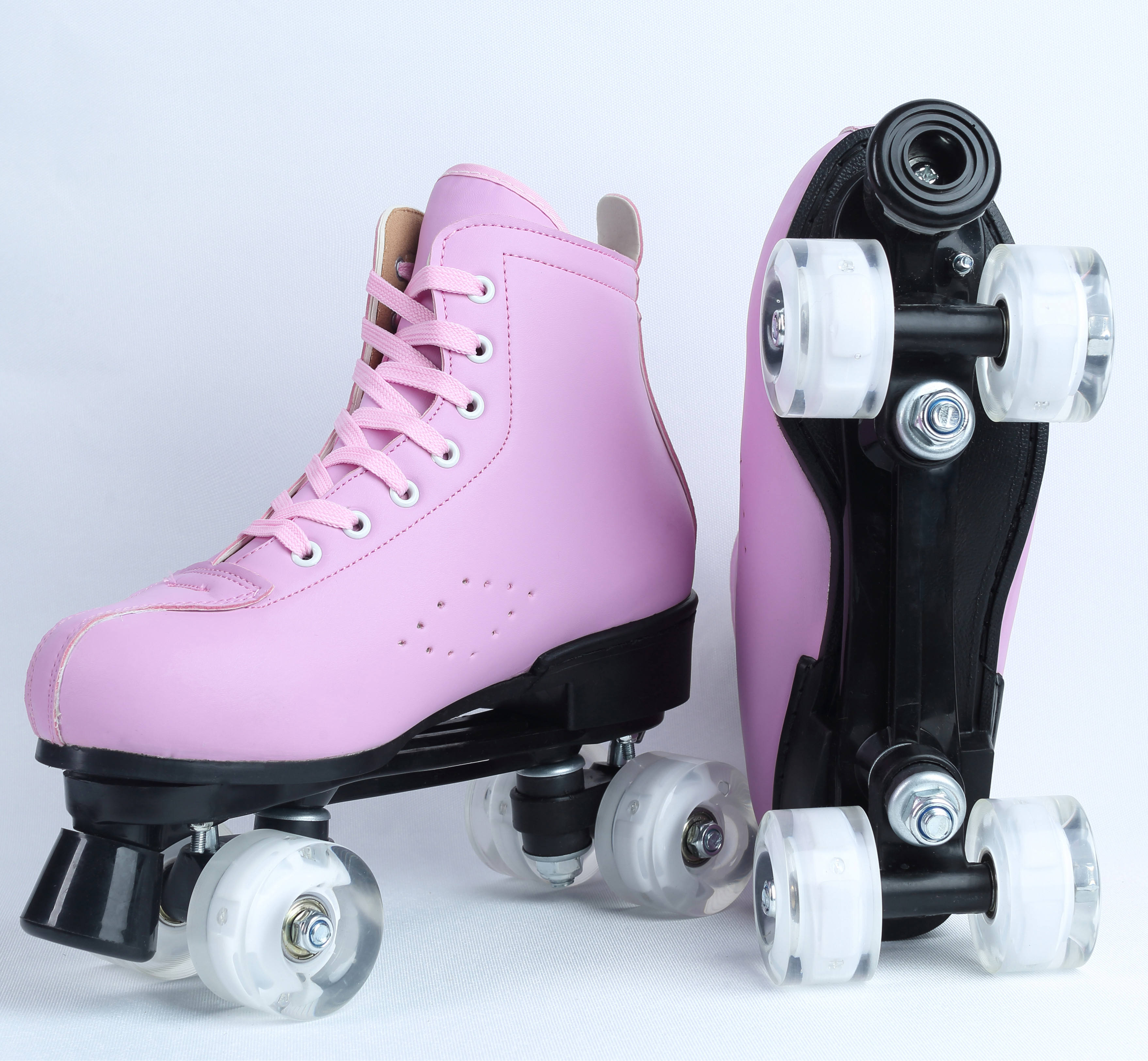 Factory wholesale and retail high - quality double - row skates, skating shoes for girls