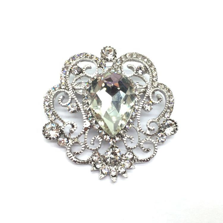 Vintage Jewelry Rhinestone Crystals Flower Brooches/ Broach Pin for Women Jewelry Accessories