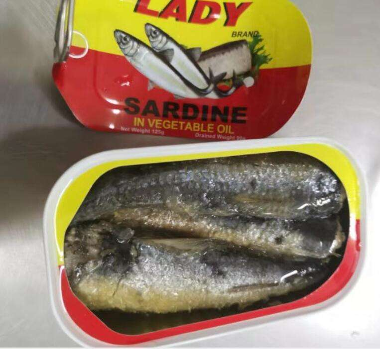Sardine in <span class=keywords><strong>olio</strong></span> vegetale 125g
