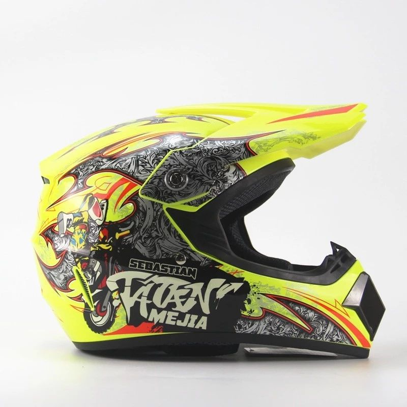 Motorhelm Full Face Motorcross DOT Helm Racing Helm