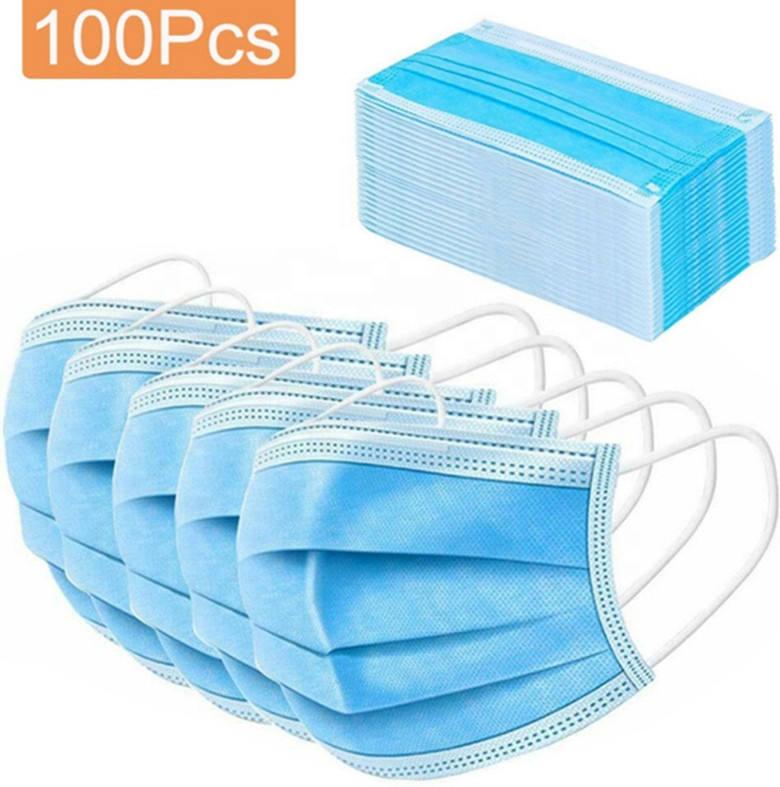 Class II Factory Sale High Quality Disposable Face 3 Ply Medical Surgical Mask