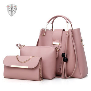 MTA PU New Fashion Waterproof Tassel Handbags