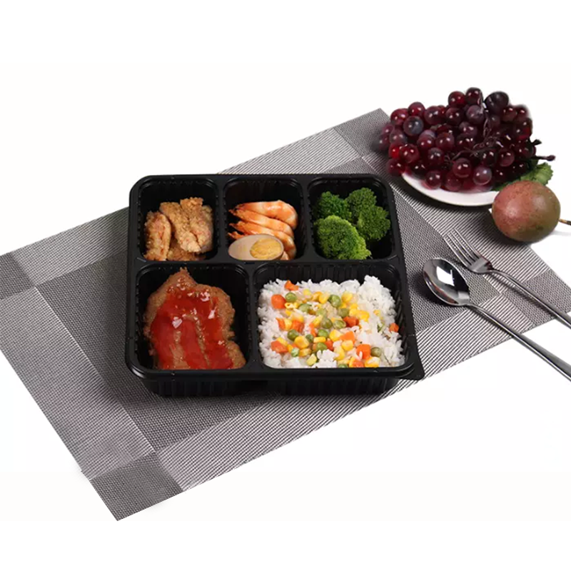 Environmental protection biodegradable disposable fast food lunch box