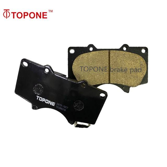 Japanese Disc Brake Pads 04465-35290 04465-0K090 Wholesale Car Parts D2228M A690WK Disc Pad For TOYOTA LAND CRUISER Brake Pads
