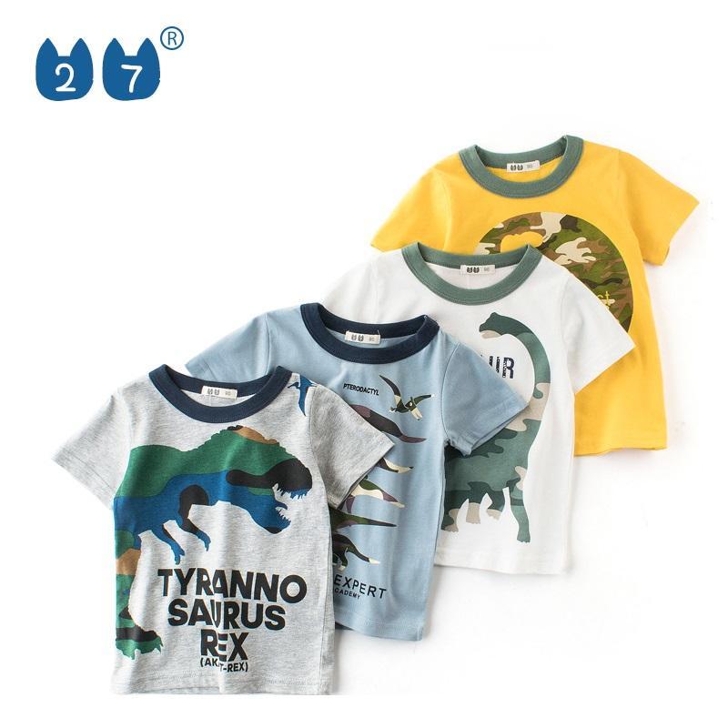 Askong Boys Girls Sleeveless O Neck Summer 100/% Cotton Cartoon Shark Printing Vest Tops Clothing for 1-10 Years