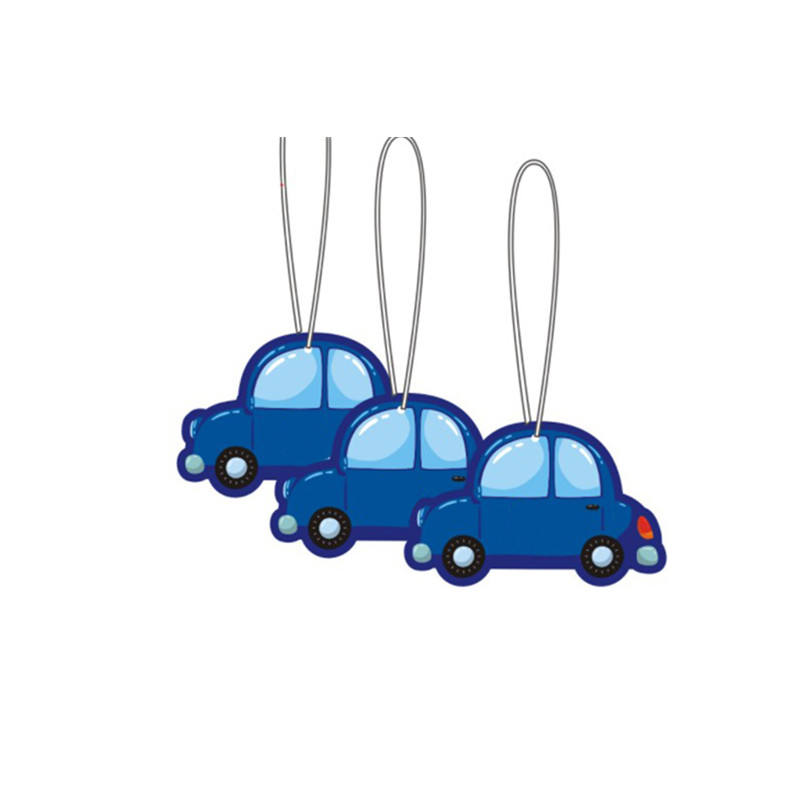 Wholesale manufacturer paper little paper trees car air freshener hanging in the car