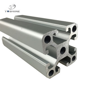 Alu profil 40x40 Profil 40x40 Supplier Direct Sell Aluminium Profile 40x40 For Transport Building Conveyor Roller