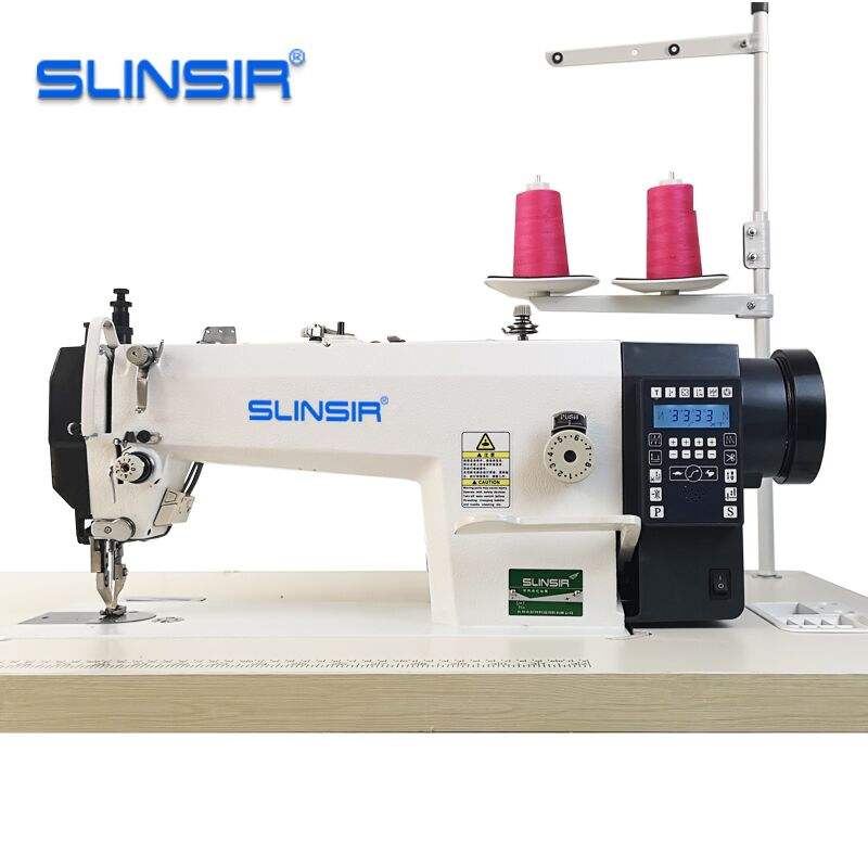 Direct Drive Synchronous Heavy Material sewing machines for leather bags 0303D
