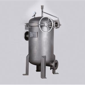 OEM Factory Jacket Insulation Filter Housing with syrup filter for honey processing machine