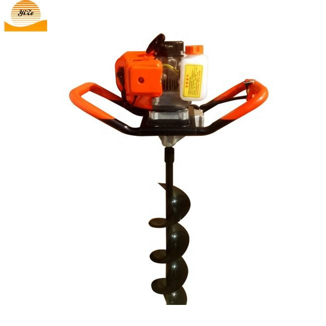Small ground hole drill earth auger digger tree planting digging machines