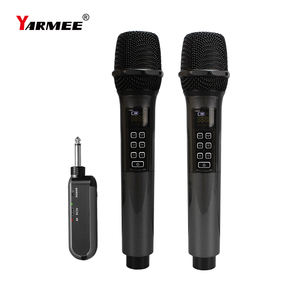 Multifunctional Wireless Echo Microphone For Small Home Karaoke Party YARMEE YU55