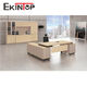 Ekintop china guangdong goggle office furniture solutions executive office desk for commercial wood office furniture