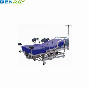 BR-DB02 Guangzhou with Linak Motor Ordinary Mobile Hospital Delivery Bed for Pregnant woman gyncology obstetric delivery bed
