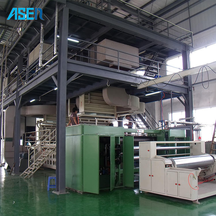 SMS Automatic meltblown nonwoven fabric cutting making machine for Mask and Protective Suit
