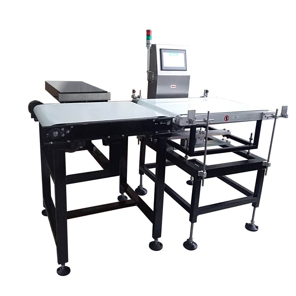 Dynamic capsule bottle check weigher checkweigher weight checker conveyor scale food industry machine