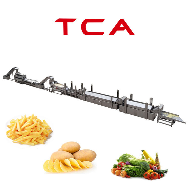 TCA Potato Chips Machinery Chips making machine Best Seller in China
