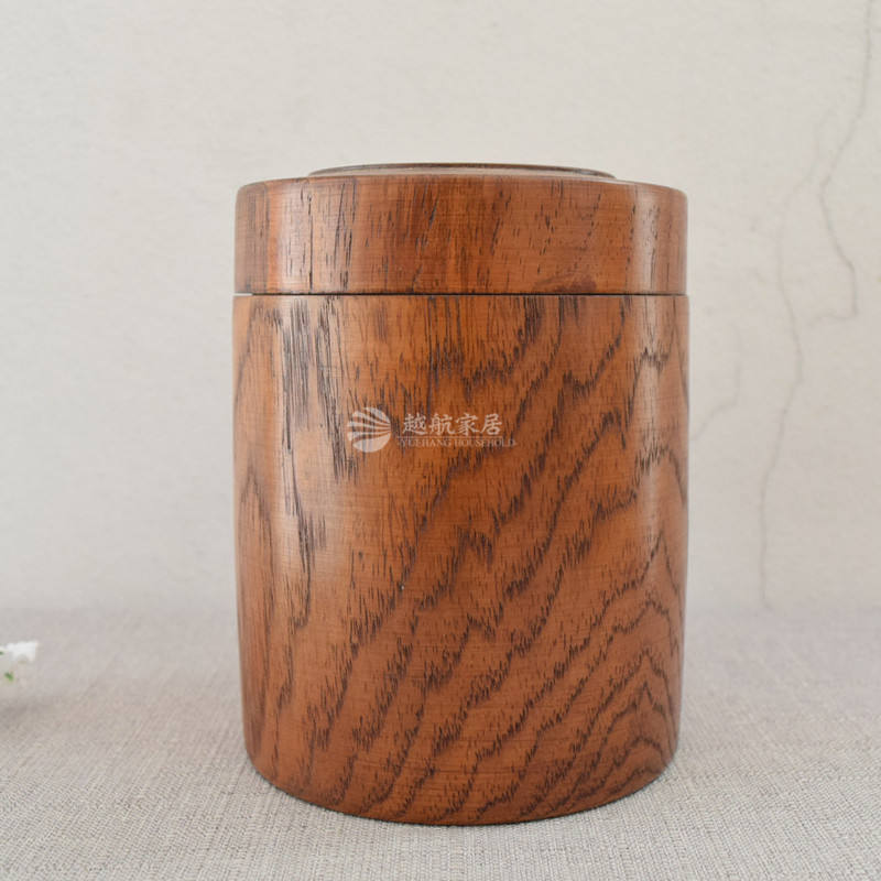 OEM design factory export directly jujube material custom round wood snack box