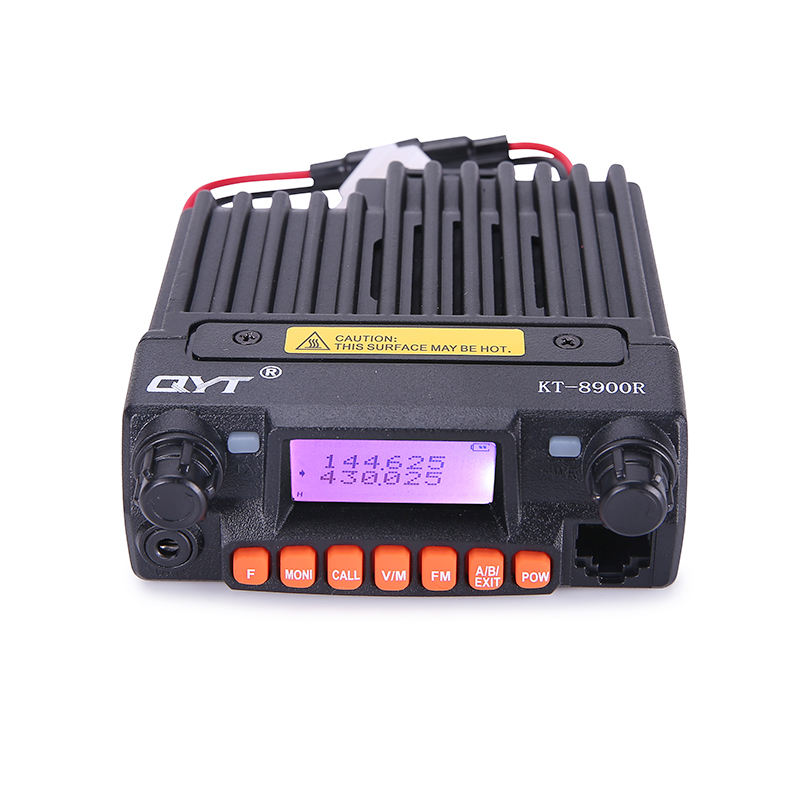 KT-8900R mini VHF UHF schermo a colori tri-band dual standby mobile car radio