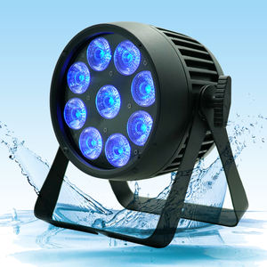 AKKU RGBWA outdoor Waterproof Wireless DMX theatrical stage lighting apparatus