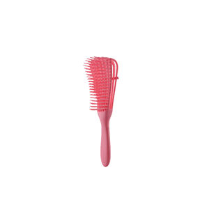 Plastic Handle Magic Eight Rows Octopus Spare Ribs Comb Detangling Hair Brush second generation comb
