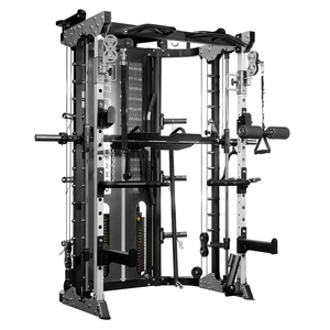Gym equipment body building multi-functional traine Smith machine home gym for sale made in China