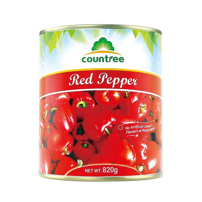 Preserved Hot Selling Canned Vegetables Fresh Preserved Sweet pepper Canned Pepper