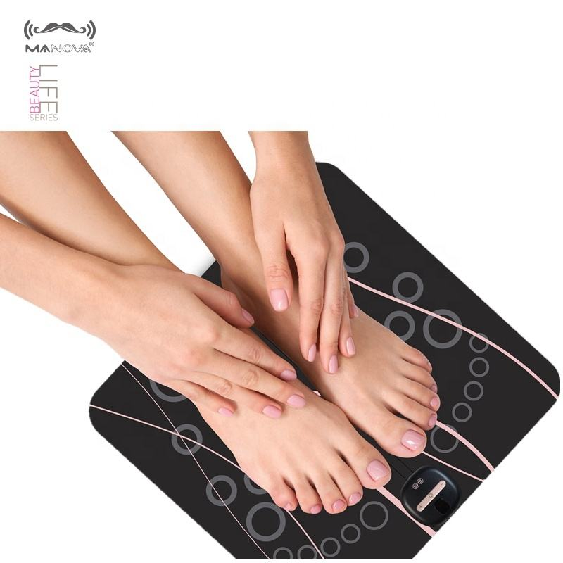 New style korea japan TENS therapy electric ems foot massage machine for blood circulation