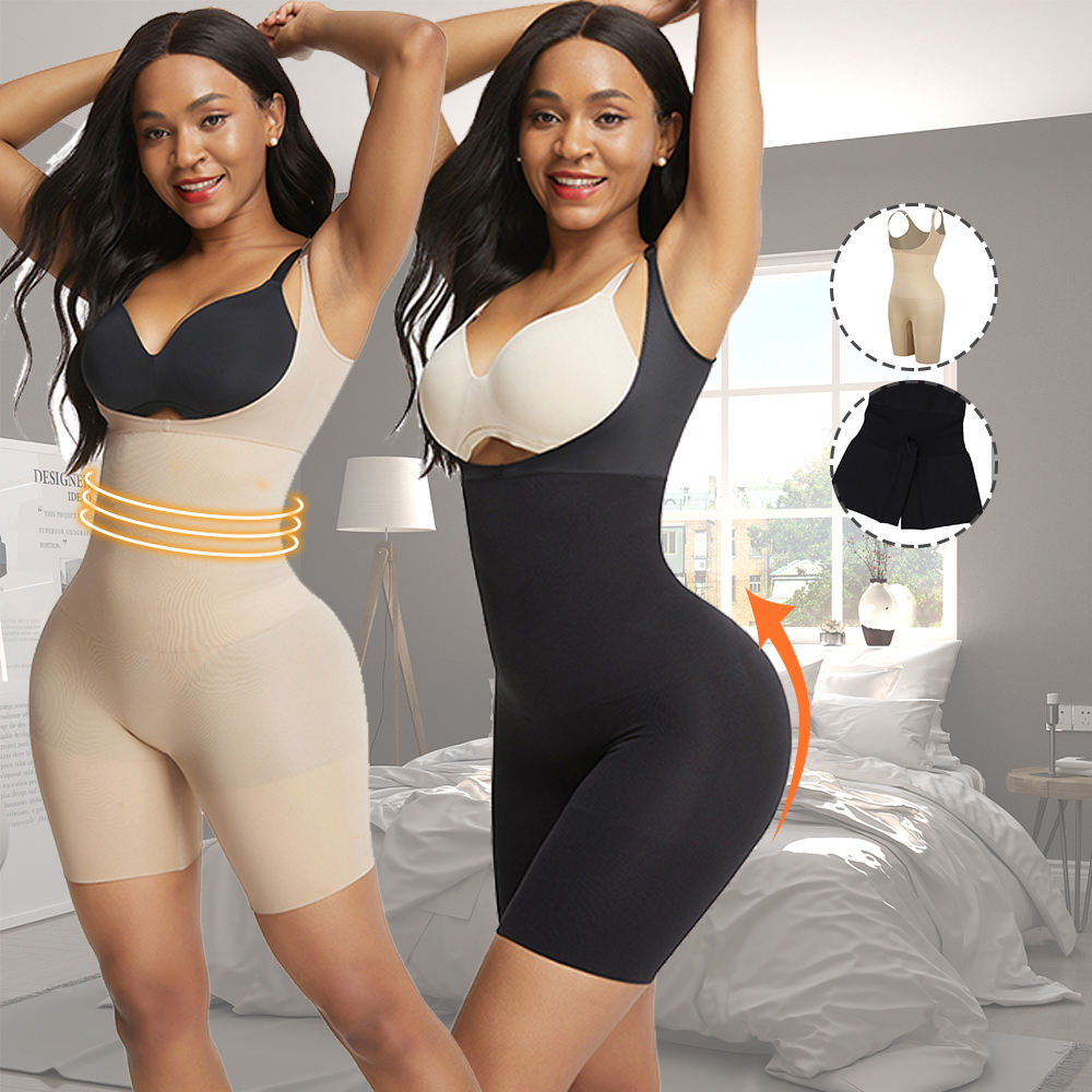 2020 Good Design High Waisted Seamless Tummy Firm Control Shorts Waist Shapewear with Straps Body Shaper Slimming