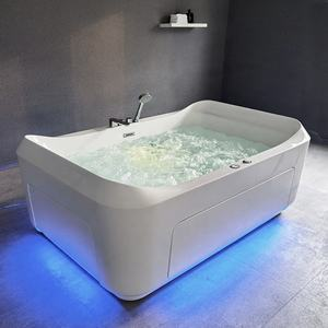 2 People Massage Jets Hot Tub SPA Bathroom Jacuzzi Function Bathtub Indoor SPA