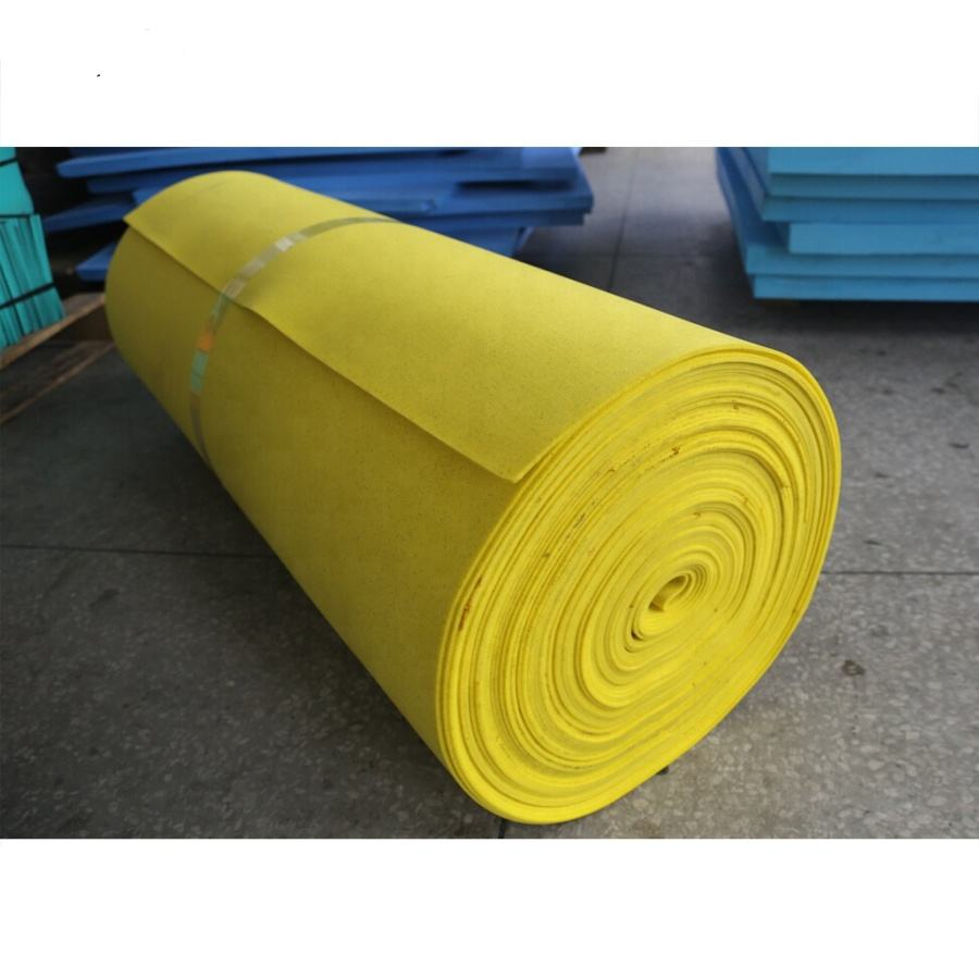 China factory custom 5mm Virgin PU foam padding roll