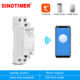 NEW WIFI Home Smart Timer Remote Control by Mobile Tuya APP Timing Switch with Countdown Manual Switch 100-240VAC DIN Rail