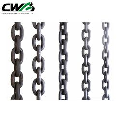Standard G30 G80 lifting chain high strength galvanized link chain