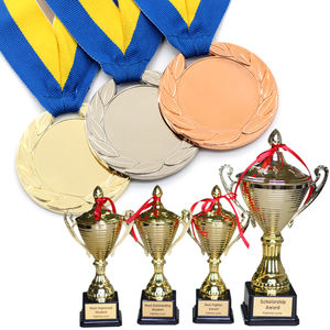 Wholesale Custom Metal High Quality Sports Medal Trophy