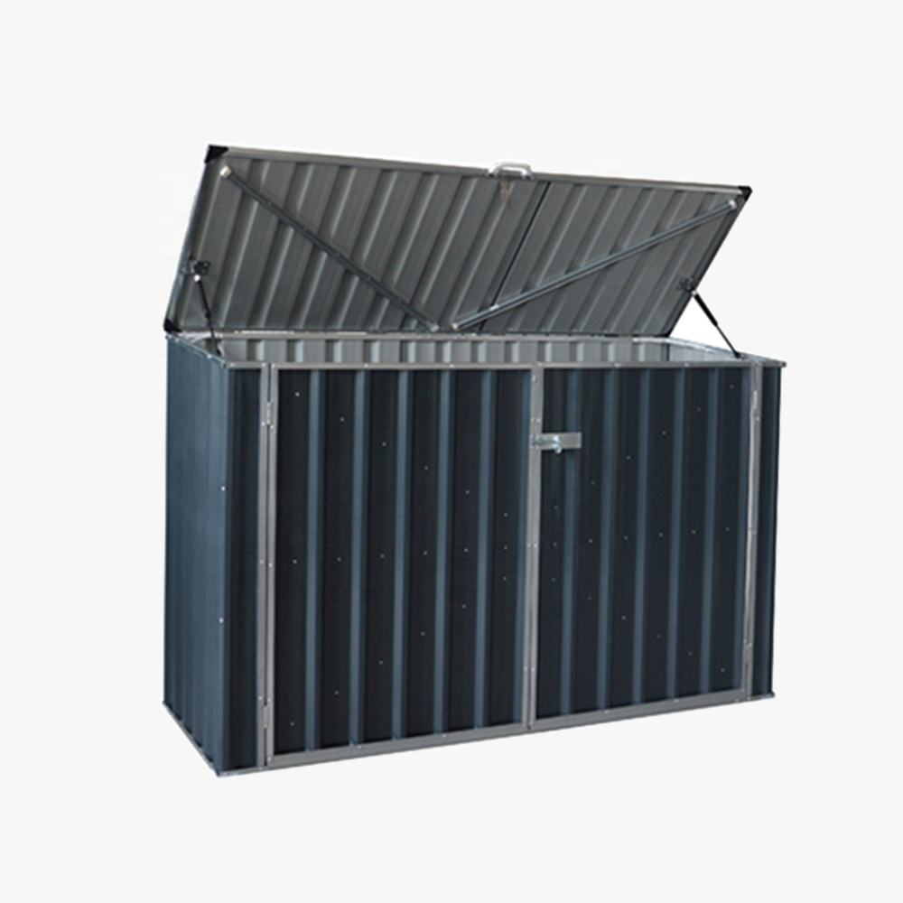 S Steel frame cheap pump Steel Storage Shed