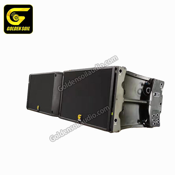 K2 Double 12 Inch 3 WAY Line Array Speaker Pasif Suara Sistem Audio DJ Kotak Suara