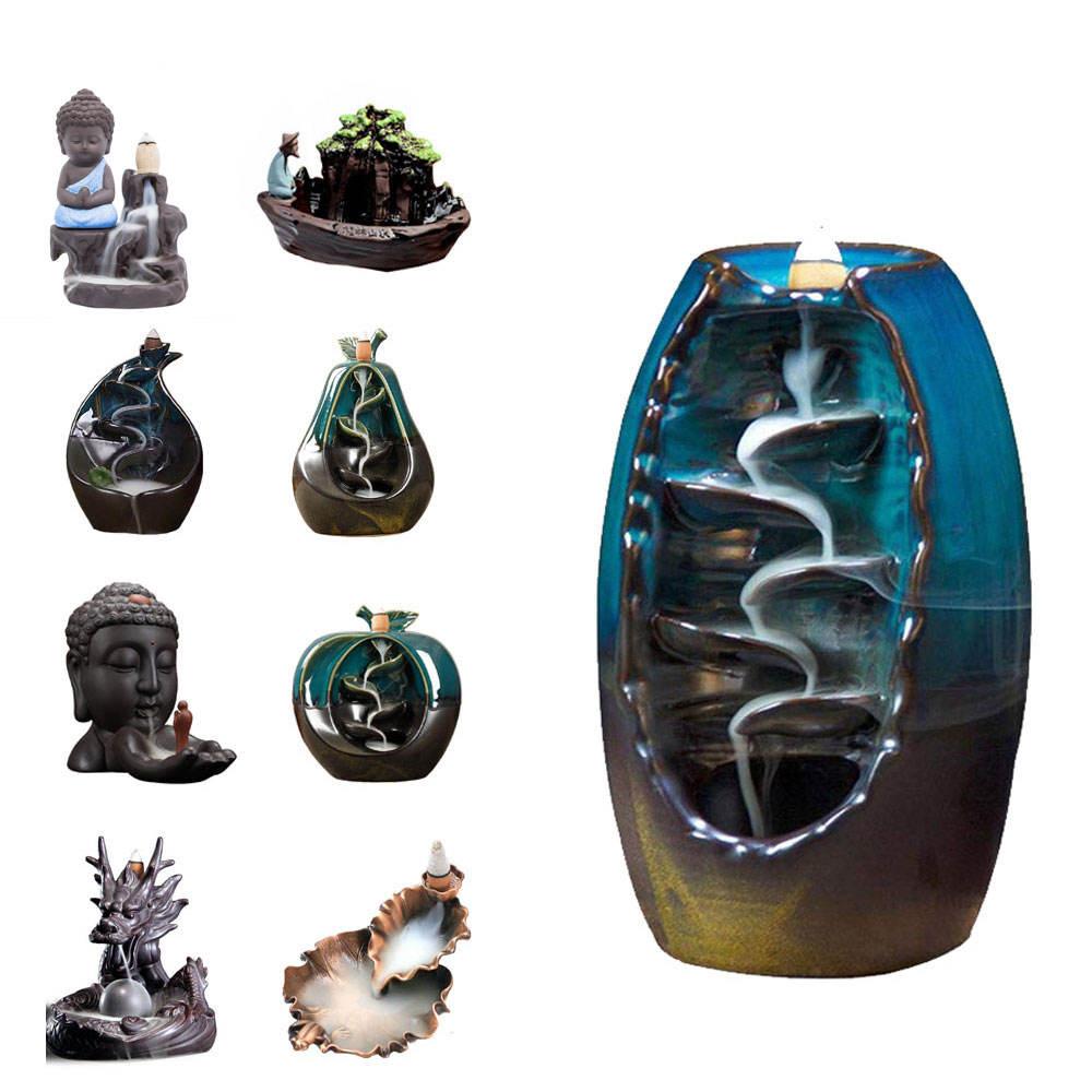 無料サンプル天然石花崗岩オイルランプ購入粘土オイルランプスリランカから教会香香炉