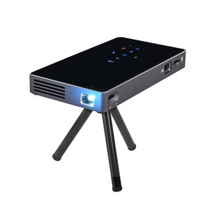 Wholesale Smart DLP P8 Pocket Mini projector Android 7.1 OS quad core dual band wifi home projector