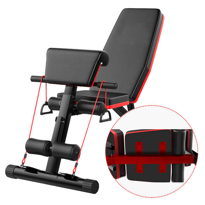 Commercial Gym Equipment Dumbbell Stool Flat Fly Weight Workout Adjustable Decline Abs Bench Home Exercise Dumbbell Bench