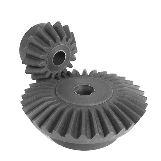 Custom Nylon Small Plastic Spiral Bevel Gear for Paper Shredder