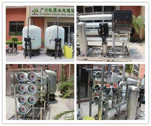 10000lph drinking water treatment plant reverse osmosis inversa water ro system with FRP membrane food grade tanks