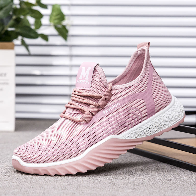china shoes new model lace up summer casual running sport shoes women